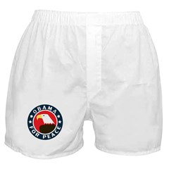 Obama For Peace Boxer Shorts