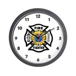 Firefighter Energy Wall Clock