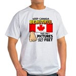 Canada Severed Foot Light T-Shirt