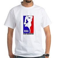 B-BOY ASSOCIATION White T-Shirt