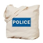 Police Theme Tote Bag