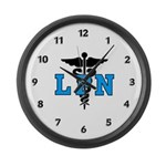 LPN Symbol Large Wall Clock