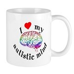 I Heart My Autistic Mind Mug
