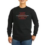 Autism is not a Tragedy Long Sleeve Dark T-Shirt