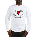 I Heart My Perseverations Long Sleeve T-Shirt