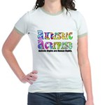 Autistic Activist v1 Jr. Ringer T-Shirt