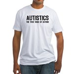 True Voice of Autism Fitted T-Shirt