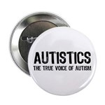 True Voice of Autism Button