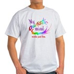 My Autistic Mind Light T-Shirt