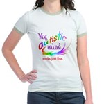 My Autistic Mind Jr. Ringer T-Shirt