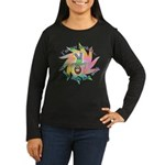 Built This Way Women's Long Sleeve Dark T-Shirt