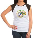 Cure Ignorance (Rainbow) Women's Cap Sleeve T-Shir