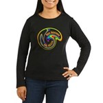 Cure Ignorance (Rainbow) Women's Long Sleeve Dark