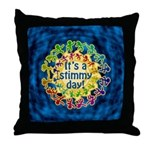 Stimmy Day Throw Pillow