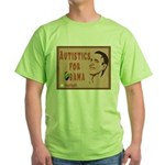 Autistics for Obama Green T-Shirt