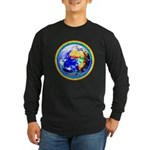 Autistic Planet Long Sleeve Dark T-Shirt