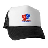 Vote Obama: No Drama! Trucker Hat