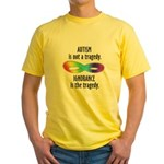 Not a Tragedy Yellow T-Shirt