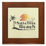 Satellite Beach Framed Tile