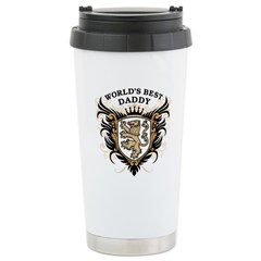 World's Best Daddy Ceramic Travel Mug