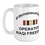 My Brother-in-law served OIF Large Mug