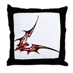 Vampire Bat 1 Throw Pillow