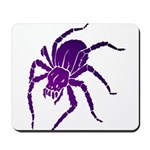 Purple Spider Mousepad