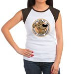 Paws for the Cure: Leukemia Women's Cap Sleeve T-Shirt