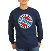 Key West 33040 Long Sleeve Dark T-Shirt