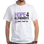Alzheimer's Awareness White T-Shirt