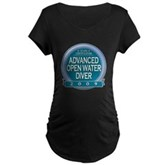 Advanced OWD 2009 Maternity Dark T-Shirt