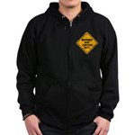 May Contain Nuts! Zip Hoodie (dark)