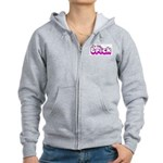 Retro I'm the Trick Women's Zip Hoodie