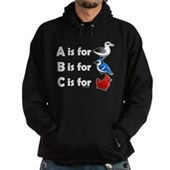B is for Birdorable Hoodie (dark)