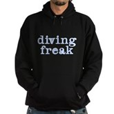 Diving Freak Hoodie (dark)