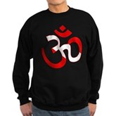 Scuba Flag Om / Aum Sweatshirt (dark)