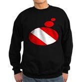 Thought Bubble Dive Flag Sweatshirt (dark)