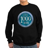 1000 Dives Milestone Sweatshirt (dark)