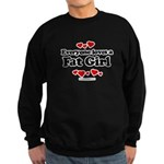 Everyone loves a Fat girl Sweatshirt (dark)