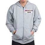 Autistics Rock Zip Hoodie