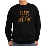 Scary Autistic Sweatshirt (dark)