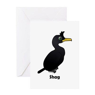 Birdorable Shag Greeting Card