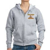 Fist Bump for Obama Women's Zip Hoodie