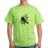 Rose-breasted Grosbeak Green T-Shirt