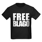 Free Illinois Governor Blagojevich, he's innocent! Kids Dark T-Shirt
