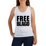 Free Illinois Governor Blagojevich, he's innocent! Women's Tank Top