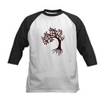 Autumn Wind Kids Baseball Jersey