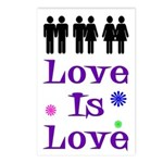 Love is Love (Pack of Postcards)