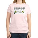 National Guard Soldier is Brave Women's Pink T-Shi