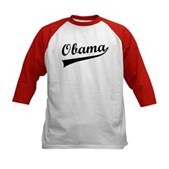Obama Swish Kids Baseball Jersey